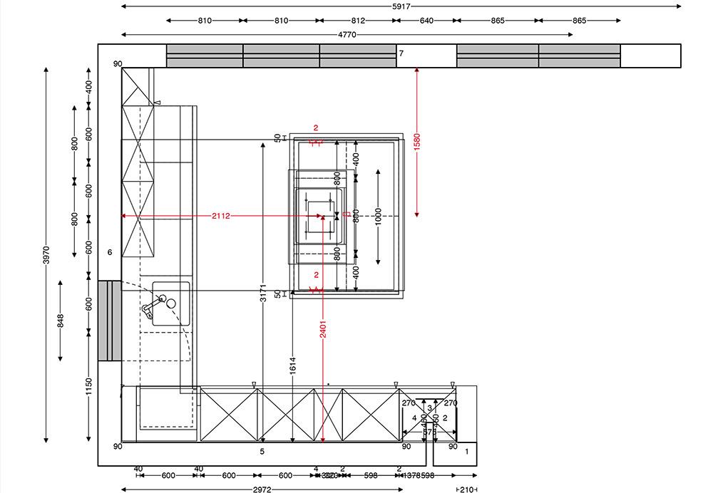 Küchenplanung maße  wunschküchen ko-ca GmbH – Stuttgart/Vaihingen